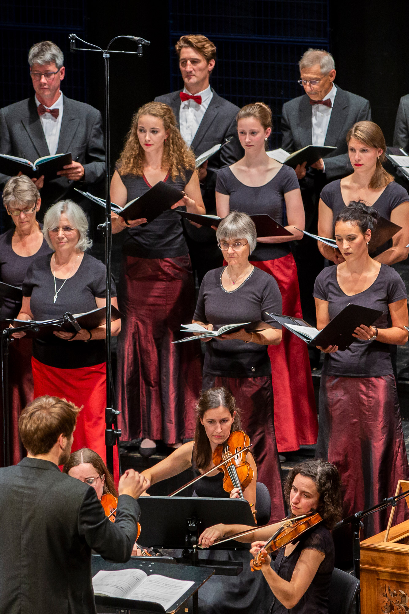 Das Heinrich-Schütz-Ensemble Vornbach im Konzert
