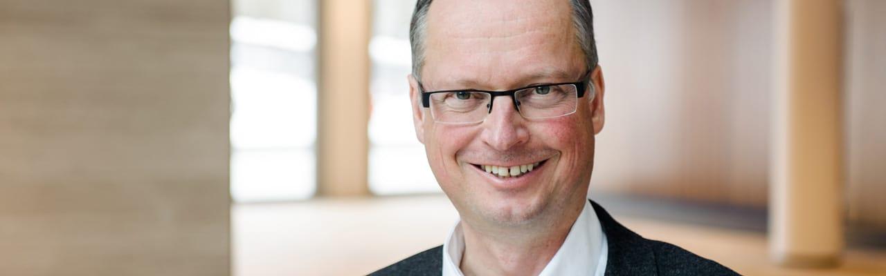 Martin Steidler, künstlerischer Leiter und Chorleiterdes Heinrich-Schütz-Ensembles Vornbach